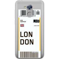 Силиконовый чехол BoxFace Huawei Honor 6A Ticket London (34983-cc83)