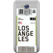Силиконовый чехол BoxFace Huawei Honor 6A Ticket Los Angeles (34983-cc85)