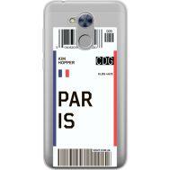 Силиконовый чехол BoxFace Huawei Honor 6A Ticket Paris (34983-cc86)