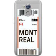 Силиконовый чехол BoxFace Huawei Honor 6A Ticket Monreal (34983-cc87)