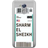 Силиконовый чехол BoxFace Huawei Honor 6A Ticket Sharmel Sheikh (34983-cc90)