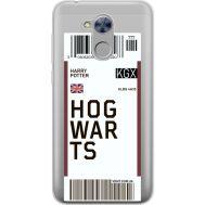 Силиконовый чехол BoxFace Huawei Honor 6A Ticket Hogwarts (34983-cc91)