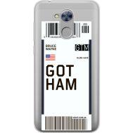 Силиконовый чехол BoxFace Huawei Honor 6A Ticket Gotham (34983-cc92)