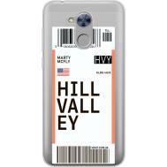 Силиконовый чехол BoxFace Huawei Honor 6A Ticket Hill Valley (34983-cc94)
