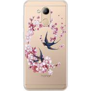 Силиконовый чехол BoxFace Huawei Honor 6C Pro Swallows and Bloom (934984-rs4)