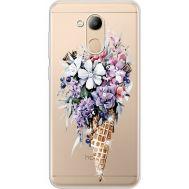 Силиконовый чехол BoxFace Huawei Honor 6C Pro Ice Cream Flowers (934984-rs17)