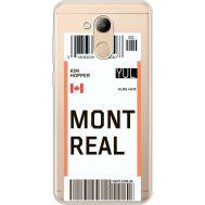 Силиконовый чехол BoxFace Huawei Honor 6C Pro Ticket Monreal (34984-cc87)