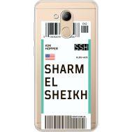 Силиконовый чехол BoxFace Huawei Honor 6C Pro Ticket Sharmel Sheikh (34984-cc90)