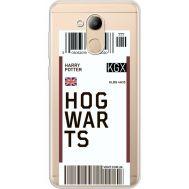 Силиконовый чехол BoxFace Huawei Honor 6C Pro Ticket Hogwarts (34984-cc91)