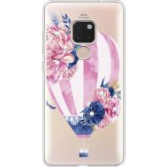 Силиконовый чехол BoxFace Huawei Mate 20 Pink Air Baloon (935636-rs6)