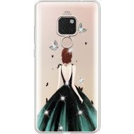 Силиконовый чехол BoxFace Huawei Mate 20 Girl in the green dress (935636-rs13)