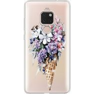 Силиконовый чехол BoxFace Huawei Mate 20 Ice Cream Flowers (935636-rs17)