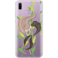 Силиконовый чехол BoxFace Huawei Honor Play Cute Mermaid (35427-cc62)