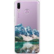 Силиконовый чехол BoxFace Huawei Honor Play Blue Mountain (35427-cc68)