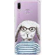 Силиконовый чехол BoxFace Huawei Honor Play MR. Rabbit (35427-cc71)