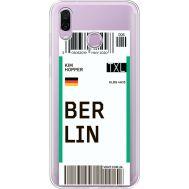 Силиконовый чехол BoxFace Huawei Honor Play Ticket Berrlin (35427-cc80)