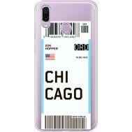 Силиконовый чехол BoxFace Huawei Honor Play Ticket Chicago (35427-cc82)