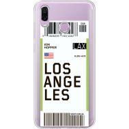 Силиконовый чехол BoxFace Huawei Honor Play Ticket Los Angeles (35427-cc85)