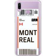 Силиконовый чехол BoxFace Huawei Honor Play Ticket Monreal (35427-cc87)