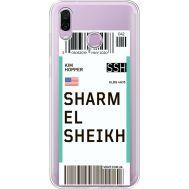 Силиконовый чехол BoxFace Huawei Honor Play Ticket Sharmel Sheikh (35427-cc90)