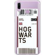 Силиконовый чехол BoxFace Huawei Honor Play Ticket Hogwarts (35427-cc91)