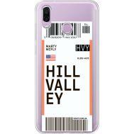 Силиконовый чехол BoxFace Huawei Honor Play Ticket Hill Valley (35427-cc94)
