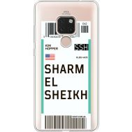 Силиконовый чехол BoxFace Huawei Mate 20 Ticket Sharmel Sheikh (35636-cc90)