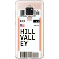 Силиконовый чехол BoxFace Huawei Mate 20 Ticket Hill Valley (35636-cc94)