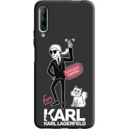 Силиконовый чехол BoxFace Huawei P Smart Pro For Karl (38955-bk38)