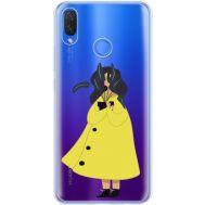Силиконовый чехол BoxFace Huawei P Smart Plus Just a Girl (34975-cc60)