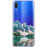 Силиконовый чехол BoxFace Huawei P Smart Plus Blue Mountain (34975-cc68)