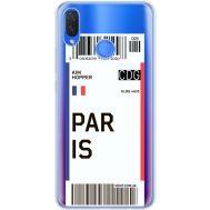 Силиконовый чехол BoxFace Huawei P Smart Plus Ticket Paris (34975-cc86)