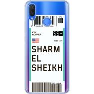 Силиконовый чехол BoxFace Huawei P Smart Plus Ticket Sharmel Sheikh (34975-cc90)