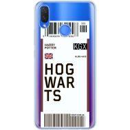 Силиконовый чехол BoxFace Huawei P Smart Plus Ticket Hogwarts (34975-cc91)