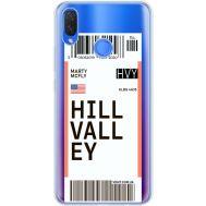 Силиконовый чехол BoxFace Huawei P Smart Plus Ticket Hill Valley (34975-cc94)