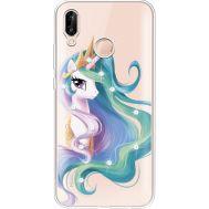 Силиконовый чехол BoxFace Huawei P20 Lite Unicorn Queen (934991-rs3)