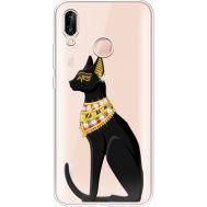 Силиконовый чехол BoxFace Huawei P20 Lite Egipet Cat (934991-rs8)