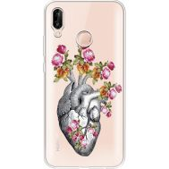 Силиконовый чехол BoxFace Huawei P20 Lite Heart (934991-rs11)