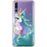 Силиконовый чехол BoxFace Huawei P20 Pro Unicorn Queen (936195-rs3)