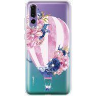 Силиконовый чехол BoxFace Huawei P20 Pro Pink Air Baloon (936195-rs6)