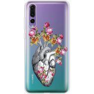 Силиконовый чехол BoxFace Huawei P20 Pro Heart (936195-rs11)