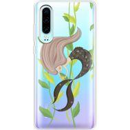 Силиконовый чехол BoxFace Huawei P30 Cute Mermaid (36852-cc62)
