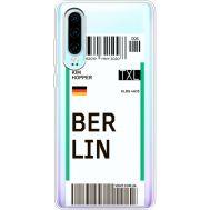 Силиконовый чехол BoxFace Huawei P30 Ticket Berrlin (36852-cc80)