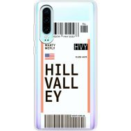 Силиконовый чехол BoxFace Huawei P30 Ticket Hill Valley (36852-cc94)