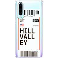 Силиконовый чехол BoxFace Huawei P30 Ticket Hill Valley (36852-cc94)