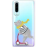 Силиконовый чехол BoxFace Huawei P30 Happy Bear (36852-cc10)