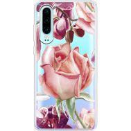 Силиконовый чехол BoxFace Huawei P30 Rose (36852-cc27)