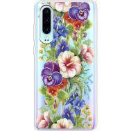 Силиконовый чехол BoxFace Huawei P30 Summer Flowers (36852-cc34)