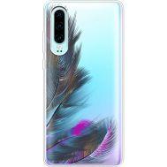 Силиконовый чехол BoxFace Huawei P30 Feathers (36852-cc48)