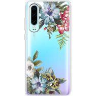 Силиконовый чехол BoxFace Huawei P30 Floral (36852-cc54)